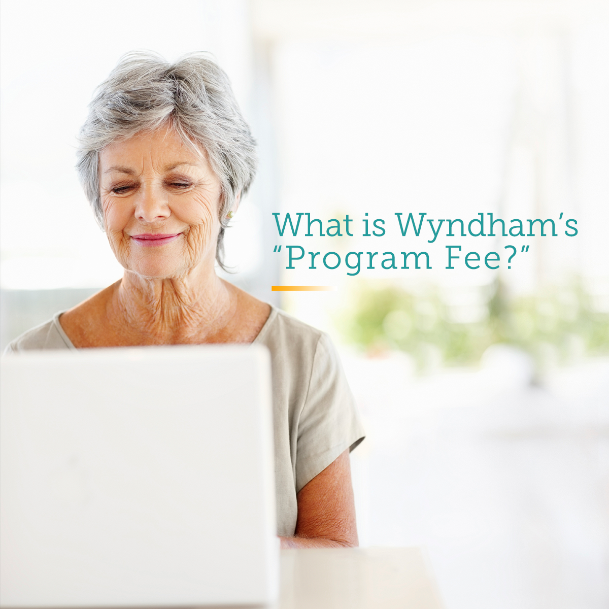 Call VMS if unsure about Wyndhams Program Fee